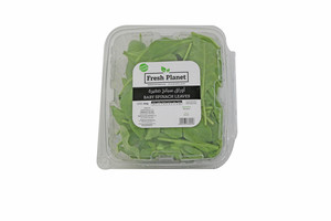 Fresh Planet Sanitized Baby Spinach 250g