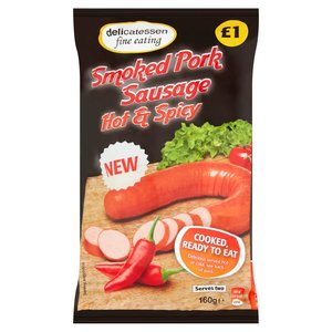 DFE Hot And Spicy Pork Sausage 160g