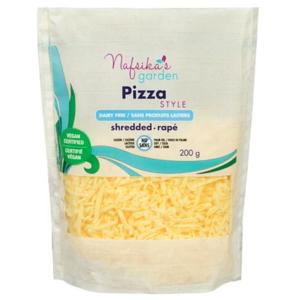 Nafsika's Garden Vegan Pizza Style Cheese Shreds 200g
