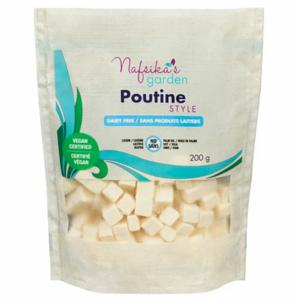 Nafsika's Garden Vegan Poutine Curd Cheese Cubes 200g