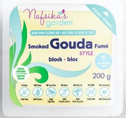 Nafsika's Garden Vegan Smoked Gouda Cheese Block 200g