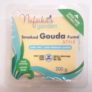Nafsika's Garden Vegan Smoked Gouda Cheese Slices 200g