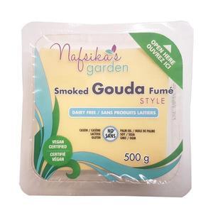 Nafsika's Garden Vegan Smoked Gouda Cheese Slices 500g