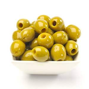 Green Olives Pitted 250g