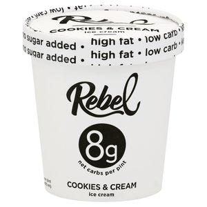 Rebel Cookies And Ice Cream 473ml