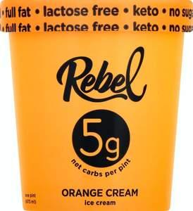 Rebel Orange Ice Cream 473ml