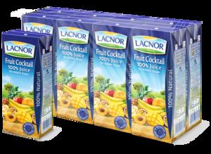 Lacnor Fruit Cocktail Juice NAS 8x180ml