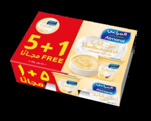 Almarai Custard Vanilla 6x85g