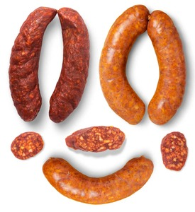 Bacon Boiled Cooked Sausage Without Fat 320g