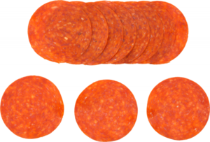 Bacon Pepperoni Slices 120g