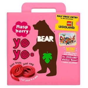 Bear Yoyo Multipack Raspberry 5x20g