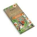 Belgian Organic Dark Chocolate Salted Caramel 90g