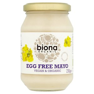 Biona Egg Free Mayo Omega Rich Organic Soya Free 230g