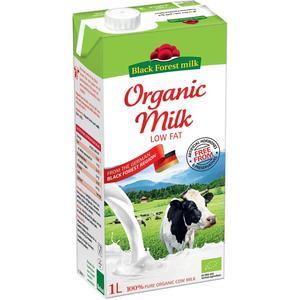 Black Forest Organic Milk Low Fat 1L