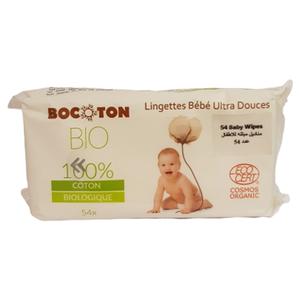 Bocoton Bio Organic Baby Wipes 54pcs