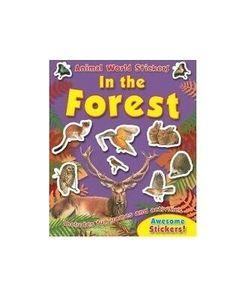 Brown & Watson Animal World Sticker Activity Forest 1pc