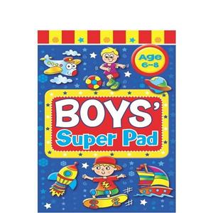 Brown & Watson Boys Activity Pad 1pc