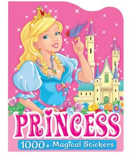 Brown & Watson Read A Pcture Sticker&Color Princess 1pc