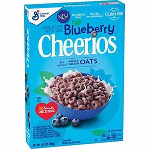 GM Cheerios Cereal Blueberry Mid 309g