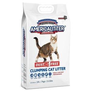 America Cat Litter Unscented 10L/7kg