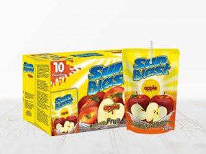 Cool Sun Apple 100% Juice 10x200ml
