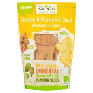 Dr. Kargs Whole Grain Snack Cheese And Pumpkin Seed 110g