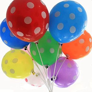 Fun Balloons 24 In Bubble 25pcs