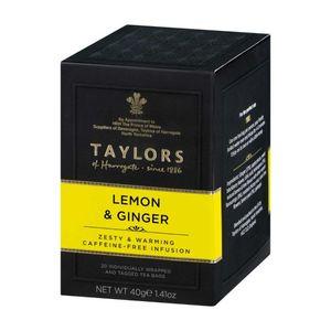 Taylors Lemon & Ginger Tea 20x2g