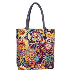 Grandiose Canvas Bag Assorted Color 1pc