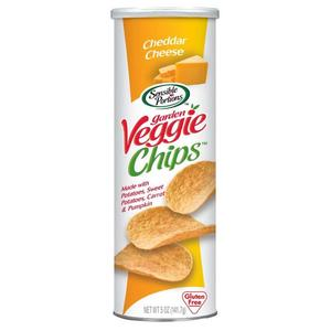 Hain Canister Chips Cheddar Cheese 141g