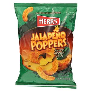 Herrs Jalapeno Poppers 198.5g