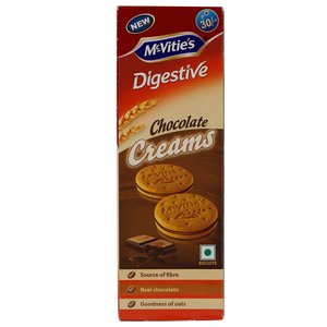 Mcvities Digestive Creams Biscuit Choco 100g