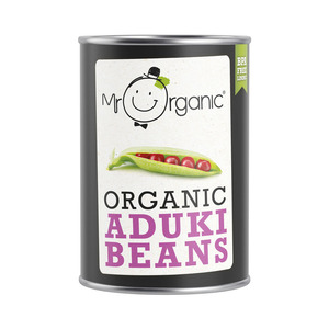 Mr Organic Aduki Bean 400g
