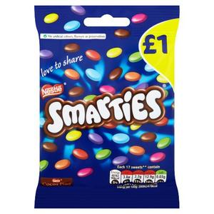 Smartieso Milk Chocolate Sweets Hanging Bag 87g