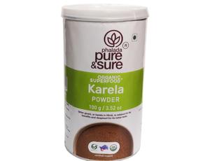 Pure & Sure Organic Karela Powder 100g
