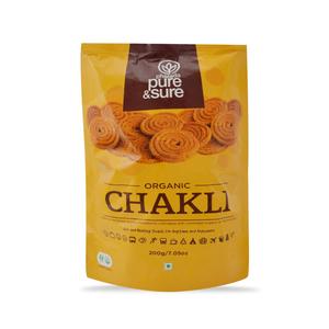 Pure & Sure Organic Chakli 200g