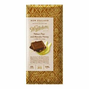 Whittakers Nelson Pear & Manuka Honey Block 100g