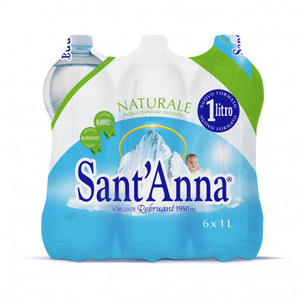 Santanna Natural Mineral Water 6x1L