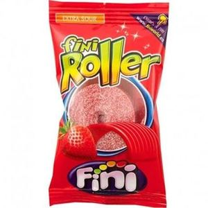 Fini Roller Extra Sour Strawberry 20g