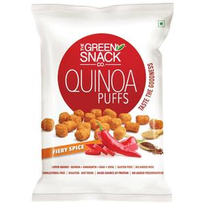 TGSC Fiery Spice Quinoa Puffs 50g