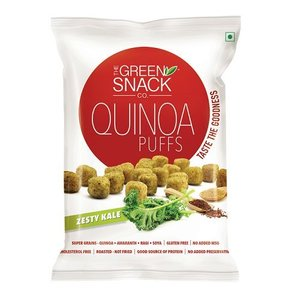 TGSC Zesty Kale Quinoa Puffs 50g
