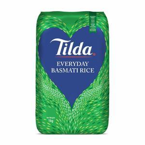 Tilda Organic White Basmati Rice 1kg