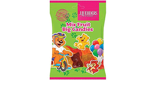 J.Luehders Mix Fruit Big Bear Candies 150g