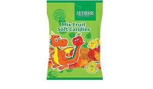 J.Luehders Mix Fruit Soft Candies 150g