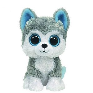 Ty Beanie Boos Dog Slush Husky Grey Regular 1pc