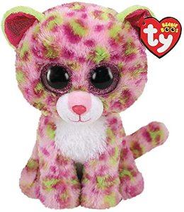 Ty Beanie Boos Leopard Lainey Pink Regular 1pc