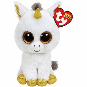 Ty Beanie Boos Unicorn Pegasus White Regular 1pc