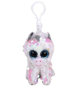 Ty Boos Flippable Unicorn Diamond Clip 1pc