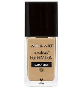 Wet N Wild Photo Focus Foundation Golden Beige 1pc