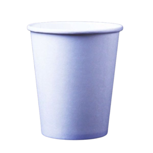 Single Wall Paper Cup White 8oz - 50cpcs
